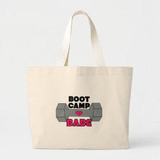 Boot Camp Babe Jumbo Tote Bag