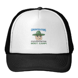 BOOT CAMP GRADUATE MESH HAT