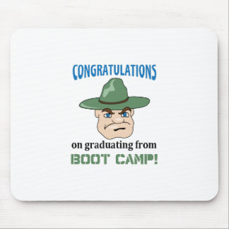 BOOT CAMP GRADUATE MOUSE PAD