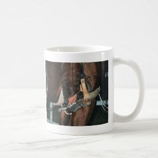 boot & spur coffee mug