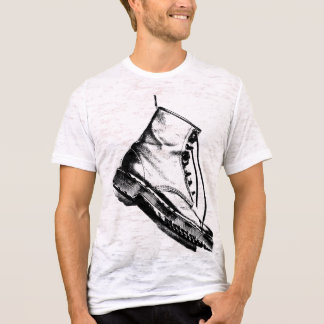 Boot vintage mens white tshirt