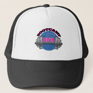 Bootcamp Diva Trucker Hat