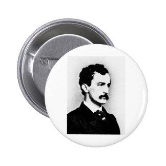 Booth John Wilkes Assassin Button