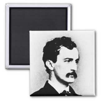 Booth ~ John Wilkes / Assassin Fridge Magnet