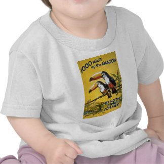 Booth Line Tours 1,000 Miles Up the Amazon Macaws T Shirt
