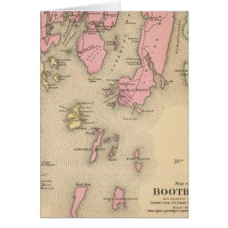 Boothbay, adjacent islands card