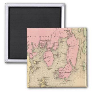 Boothbay, adjacent islands magnet