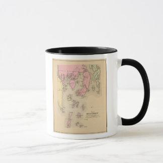 Boothbay, adjacent islands mug
