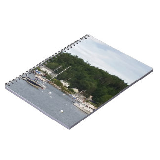 Boothbay Harbor Boats Notebook (80 Pages B&W)