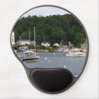 Boothbay Harbor, Maine Boats Gel Mousepad Gel Mouse Mat