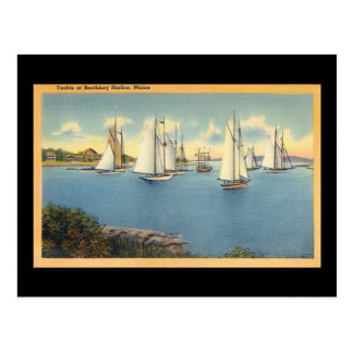 BoothBay Harbor Postcard