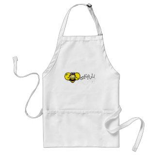 Bootiful Bee Standard Apron