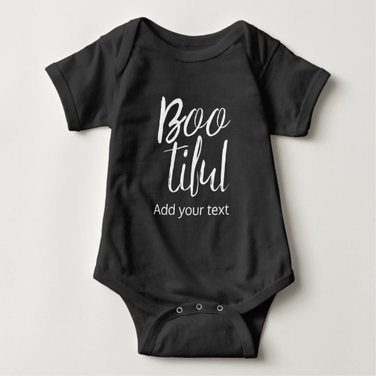 Bootiful Cute Halloween Costume Baby Bodysuit