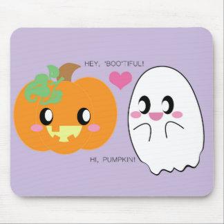 BOOtiful Pumpkin Love Mousepad