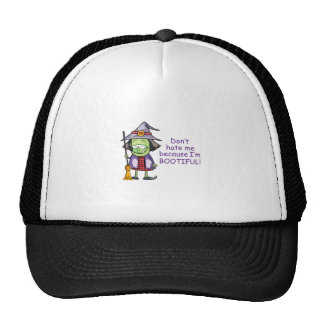 BOOTIFUL WITCH TRUCKER HAT