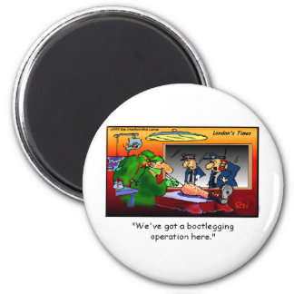 Bootleg Operation Funny Cartoon Tees & Gifts 6 Cm Round Magnet