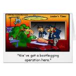 Bootleg Operation Funny Cartoon Tees & Gifts Greeting Card