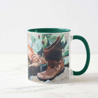 Boots and Cactus Mug