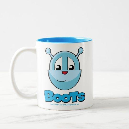 Boots and Pup Mug