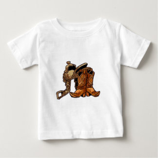 Boots and Saddle Baby T-Shirt