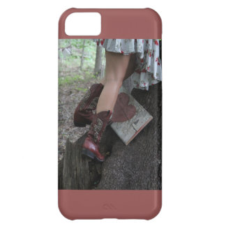Boots, heart iPhone 5C case