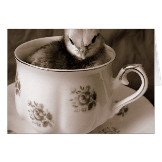 Boots in a Teacup Card