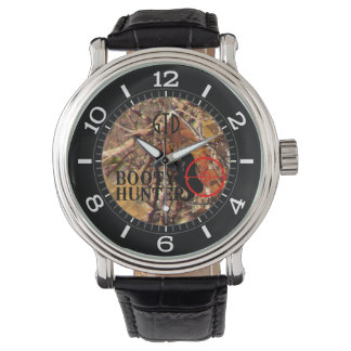 Booty Hunter on Fall Camouflage Dial Watch