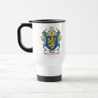 Booy Family Crest Travel Mug