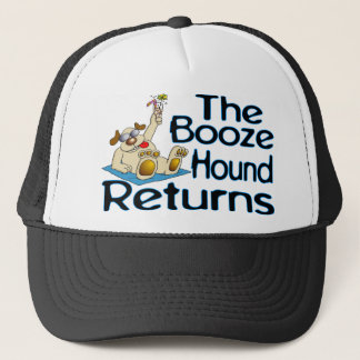 Booze Hound Returns Trucker Hat