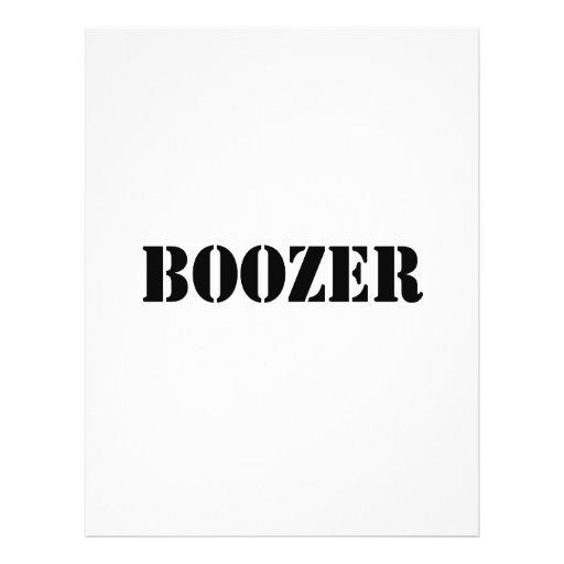 Boozer Black Personalized Flyer