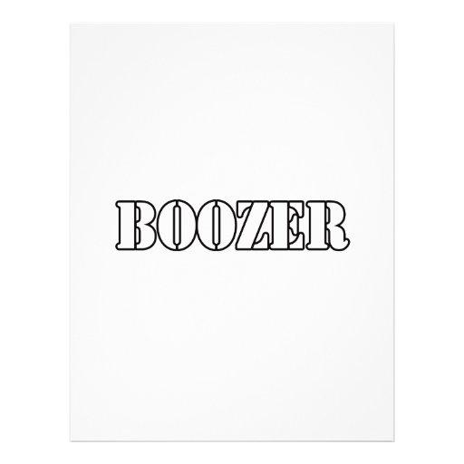 Boozer Flyer Design