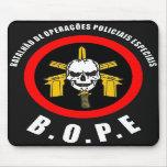 BOPE Tropa De Elite Brazilian Special Police Force Mousepad