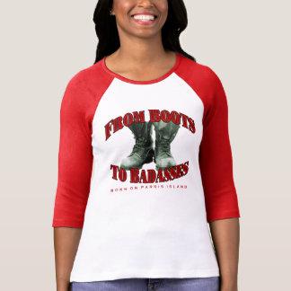 "BOPI ""Boots To Badasses"" 3/4 Sleeve Raglan T-Shirt"