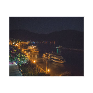 Boppard at night - canvas