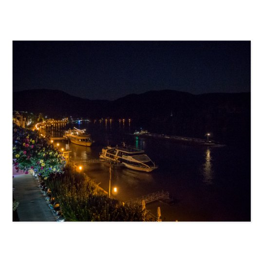 Boppard at Night - postcard