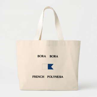 Bora Bora French Polynesia Alpha Dive Flag Bags