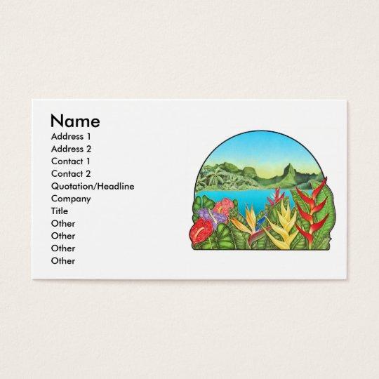 Bora Bora, French Polynesia Business Card