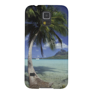 Bora Bora, French Polynesia Mt. Otemanu seen Galaxy S5 Case