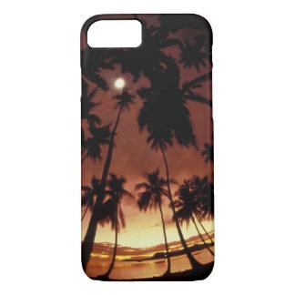 Bora Bora, French Polynesia Sunset shot through iPhone 8/7 Case