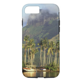 Bora Bora, French Polynesia Waterfront scene and iPhone 8/7 Case
