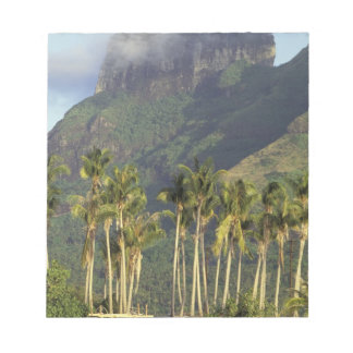 Bora Bora, French Polynesia Waterfront scene and Notepad