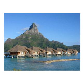 Bora Bora Huts Postcards