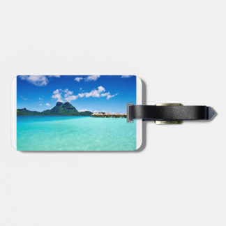 Bora Bora Luggage Tag