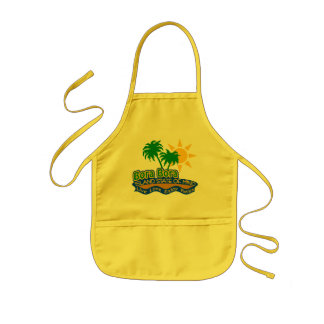 Bora Bora State of Mind apron - choose style