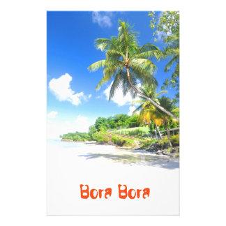 Bora Bora Stationery Design