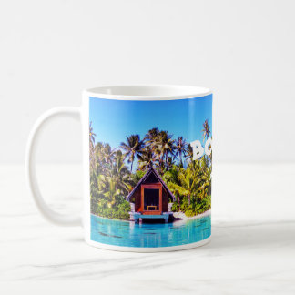 Bora Bora Wedding Chapel Drinkware Coffee Mug