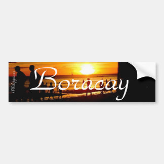 Boracay Beach, Philippines - Bumper Sticker