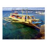 Boracay-Caticlan Ferryboat Post Card