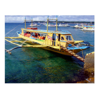 Boracay-Caticlan Ferryboat Postcard