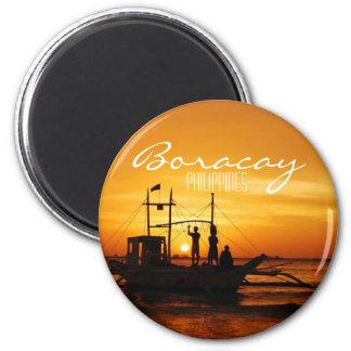 Boracay, Philippines 6 Cm Round Magnet